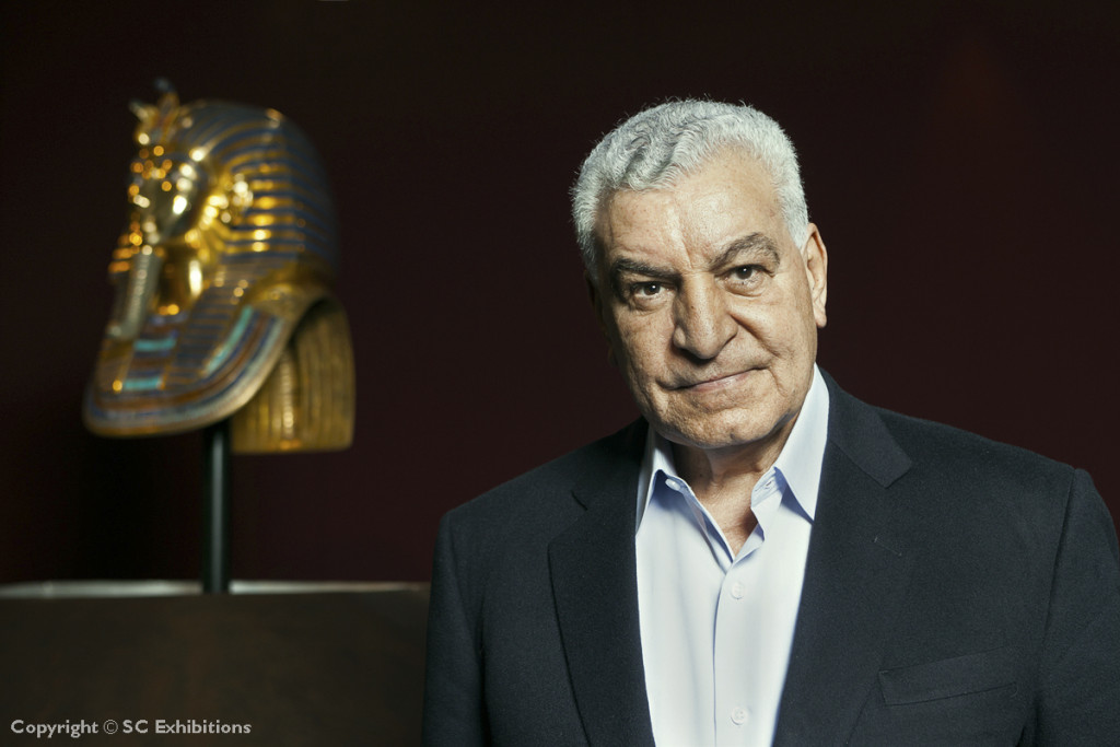 Zahi_Hawass_at_TUT