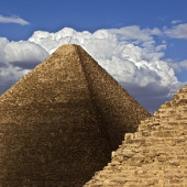 A New Angle on the Great Pyramid<h4>BY DR. ANDREW BAYUK