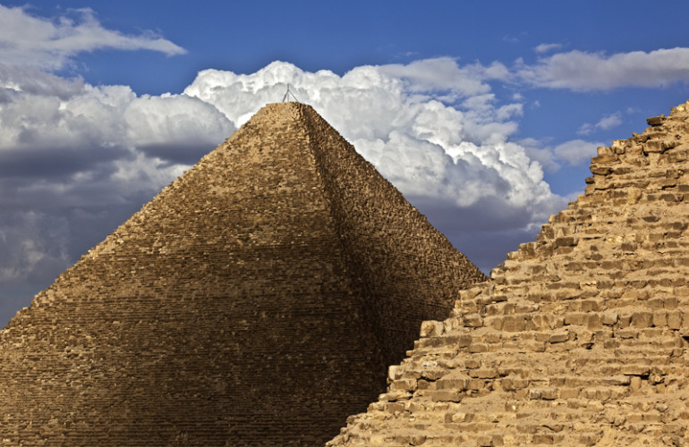 A New Angle on the Great PyramidBY DR  ANDREW BAYUK