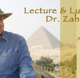 Zahi Hawass lectures at the EEO/SC Special Event on Aug 22nd in Los Angeles