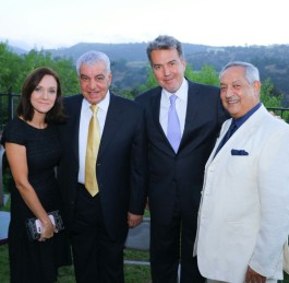 Reception held in Los Angeles for Zahi Hawass