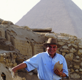 Zahi Hawass awarded the Capo Circeo Roma
