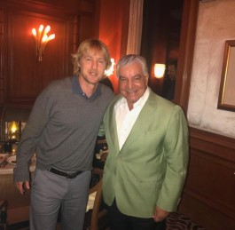 Dinner in Cairo with the amazing actor, Owen Wilson, visiting Egypt for the Gouna Film Festival
