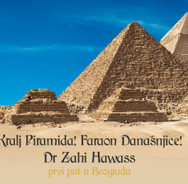 Stay tuned…. Zahi Hawass lecturing in Serbia this December!!!