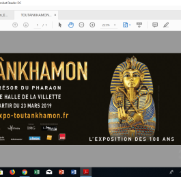 Tutankhamun Arrives in Paris
