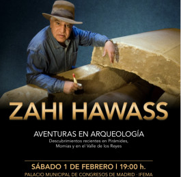 Adventures in Archaeology Conference Arrives in Madrid